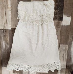Francesca's strapless dress